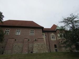 Zamek Dębno - widok od południa