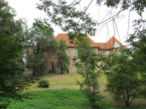 Zamek Dębno - widok od strony południowej